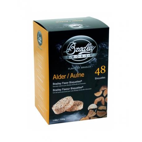 Briquetas Bradley Smoker sabor Aliso 48