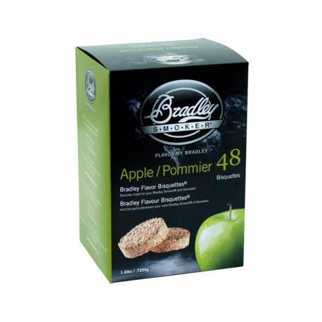 Briquetas Bradley Smoker sabor Manzano 48