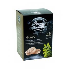 Briquetas Bradley Smoker sabor Nogal Americano 48