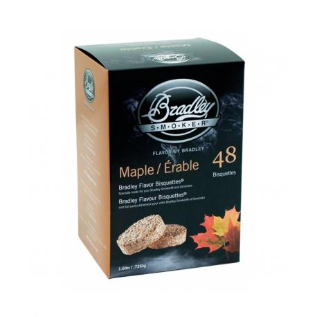 Briquetas Bradley Smoker sabor Arce 48
