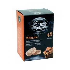 Briquetas Bradley Smoker sabor Mezquite 48