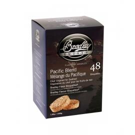 Briquetas Bradley Smoker sabor Mezcla del Pacífico