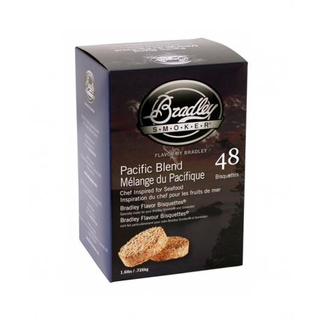 Briquetas Bradley Smoker sabor Pacific Blend 48