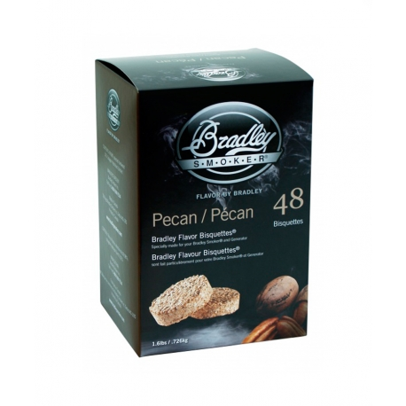 Briquetas Bradley Smoker sabor Pacana 48