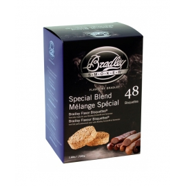 Briquetas Bradley Smoker sabor Special Blend 48