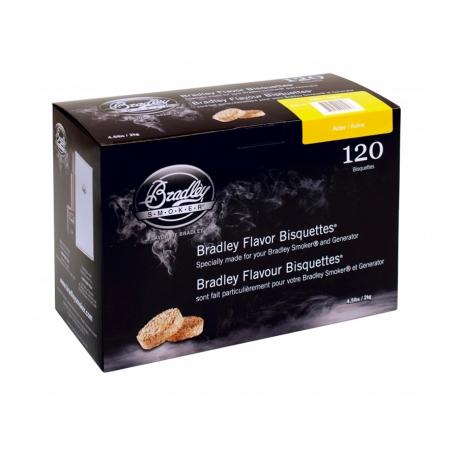 Briquetas Bradley Smoker sabor Aliso 120