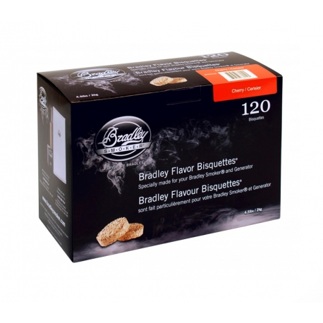 Briquetas Bradley Smoker sabor Cerezo 120