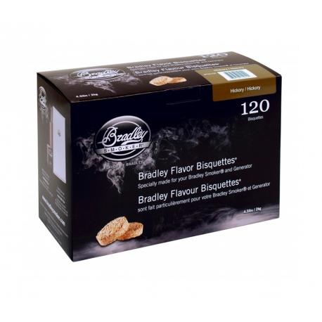 Briquetas Bradley Smoker sabor Nogal Americano 120