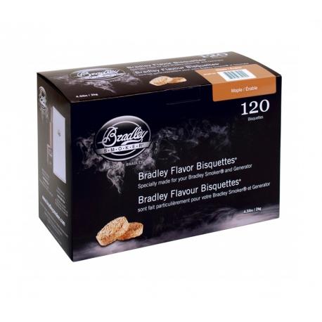 Briquetas Bradley Smoker sabor Arce 120
