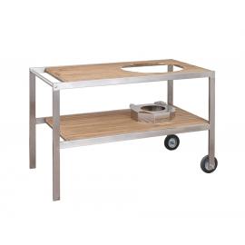 Mesa de teca para kamado Monolith Classic
